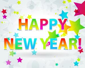 Beautiful New Year's illustration