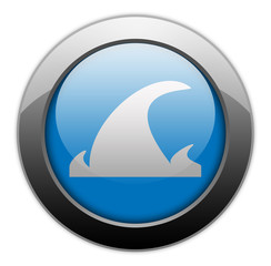 "Metallic Orb Button ""Tsunami"""