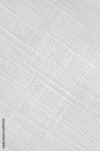 High resolution white linen canvas texture
