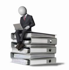 online offline management Headman concept