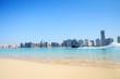 Beach and water sport in Abu Dhabi,UAE