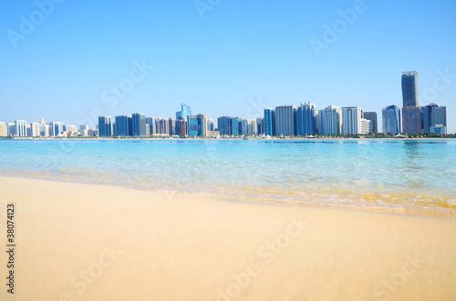 Abu Dhabi panorama, UAE