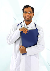 Àttractive young doctor