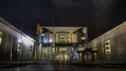 View of the german chancellery