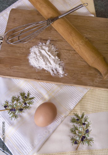 Main baking ingredients