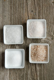 Various of salt