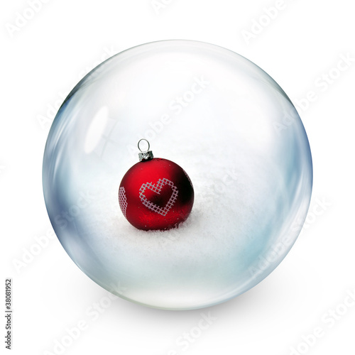bauble in sphere
