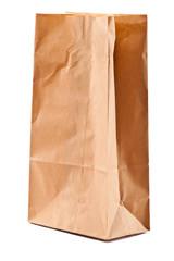 A paper bag.