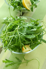 rucola in bowl