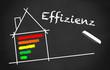 Chalkboard Energieeffizienz black