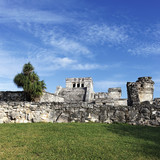 famous place of Tulum poster