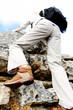 climbing hiking boot