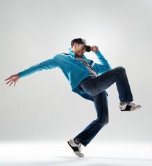 Male dancer striking a pose