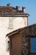 verfallene Häuser am Mittelmeer