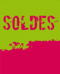 green red pared soldes