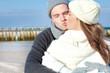 ehepaar kuss