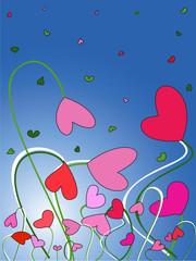 Valentine's Day. postcard