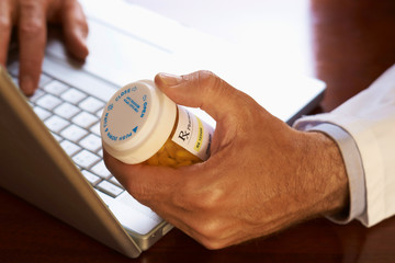 Online doctor prescription
