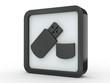 Button USB schwarz