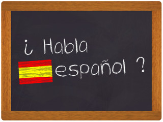 Ardoise - Habla espanol - traduction espagnol