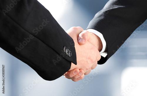 Erfolg im Business | Handshake