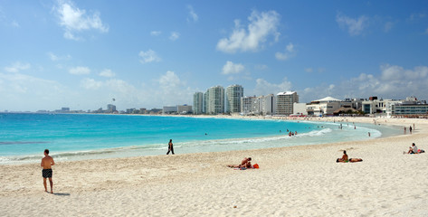 spiaggia di cancun