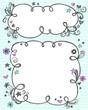 Sketchy Doodle Cloud Frames Set
