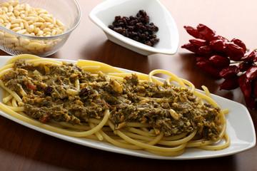 Pasta finocchi e sarde - Pasta with sardines and fennel