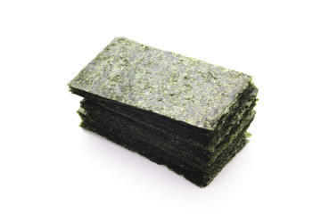 Sheets of dried nori