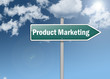 "Signpost ""Product Marketing"""