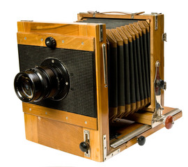 WOODEN PHOTO CAMERA