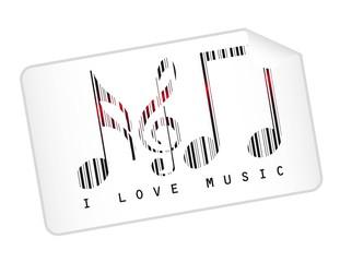 music bar code