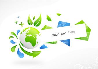 Globe écologie texte