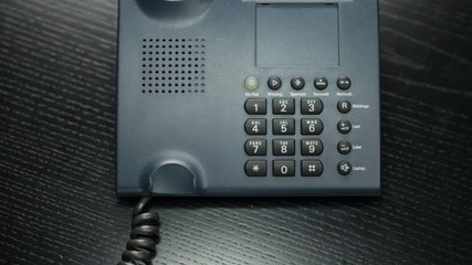 Businessphone - close up