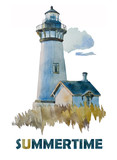 Watercolor Lighthouse