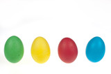 Four Easter eggs