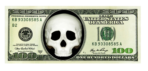 Dangerous, criminal money. Scull on US Dollar