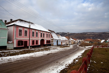 strada a Sighisoara, Romania