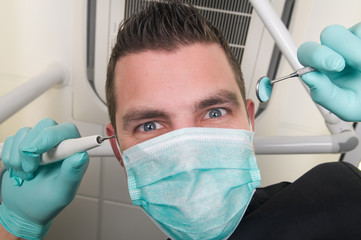 In the dentist's chair