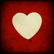 Texture rossa con cuore bianco