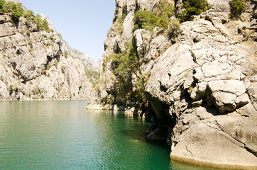 beautiful view mounttain Green Canyon