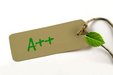 A++ Energieeffizienzklasse Anhänger
