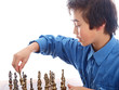 child playing chess