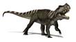 Prestosuchus Dinosaur -3D render