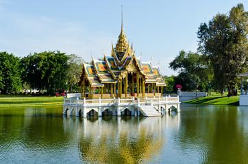 Aisawan-Dhipaya Asana Pavillion at Bang Pa-in Palace, Ayuthaya p