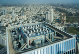 Birdseye view of Tel Aviv center, Israel