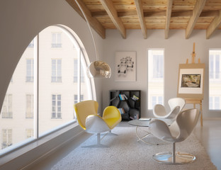 Contemporary Loft Design II