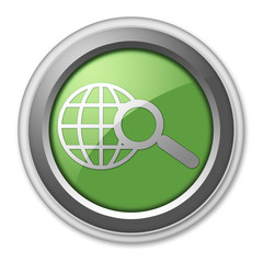 """Green 3D Style Button """"Search"""""""