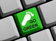 Tastatur - Go Green