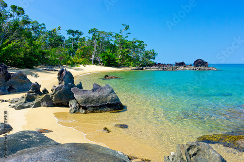 canvas print picture Madagascar Beach